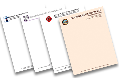 Full Color Letterhead (no bleeds)