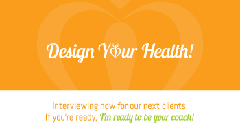 Healthy Body By Design Card Back