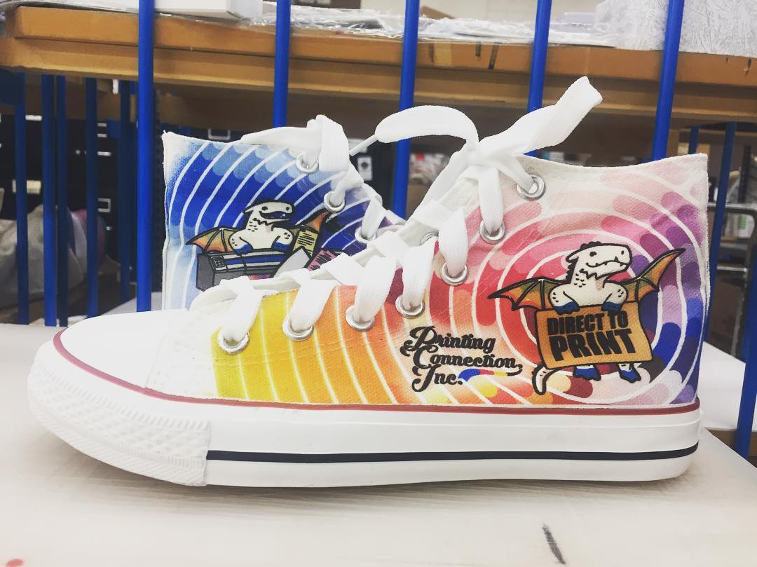 Custom High Top Canvas Shoe