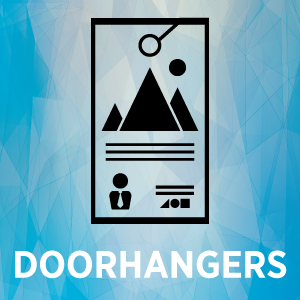 Doorhangers Thumbnail with text