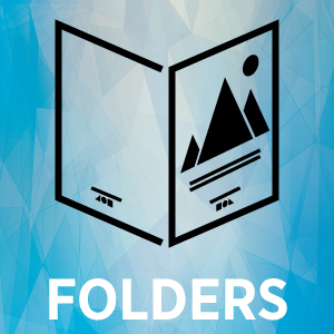 Folder Thumbnail with text
