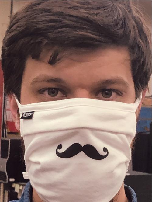 Facemask Mustache