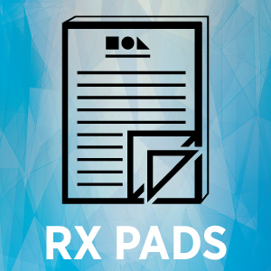 Rx Pads Thumbnail with text