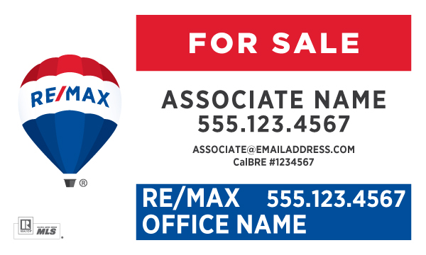 RE/MAX For Sale Horizontal