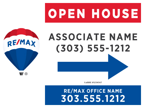 RE/MAX Open House Right