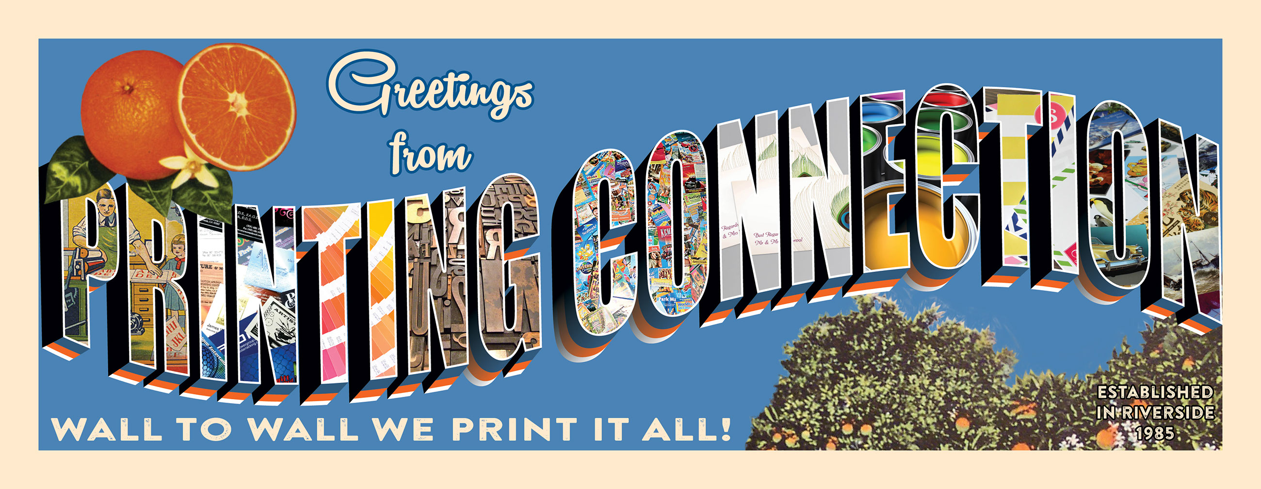 printing connection · wel e to printing connection inc