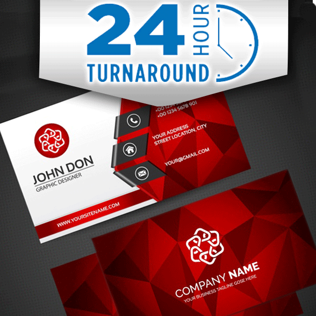 24-Hour Business Cards