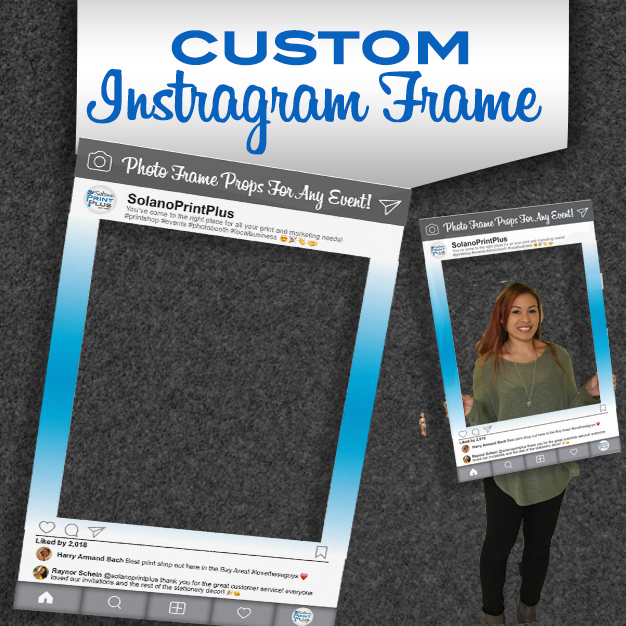 Instagram Photo Frame Prop