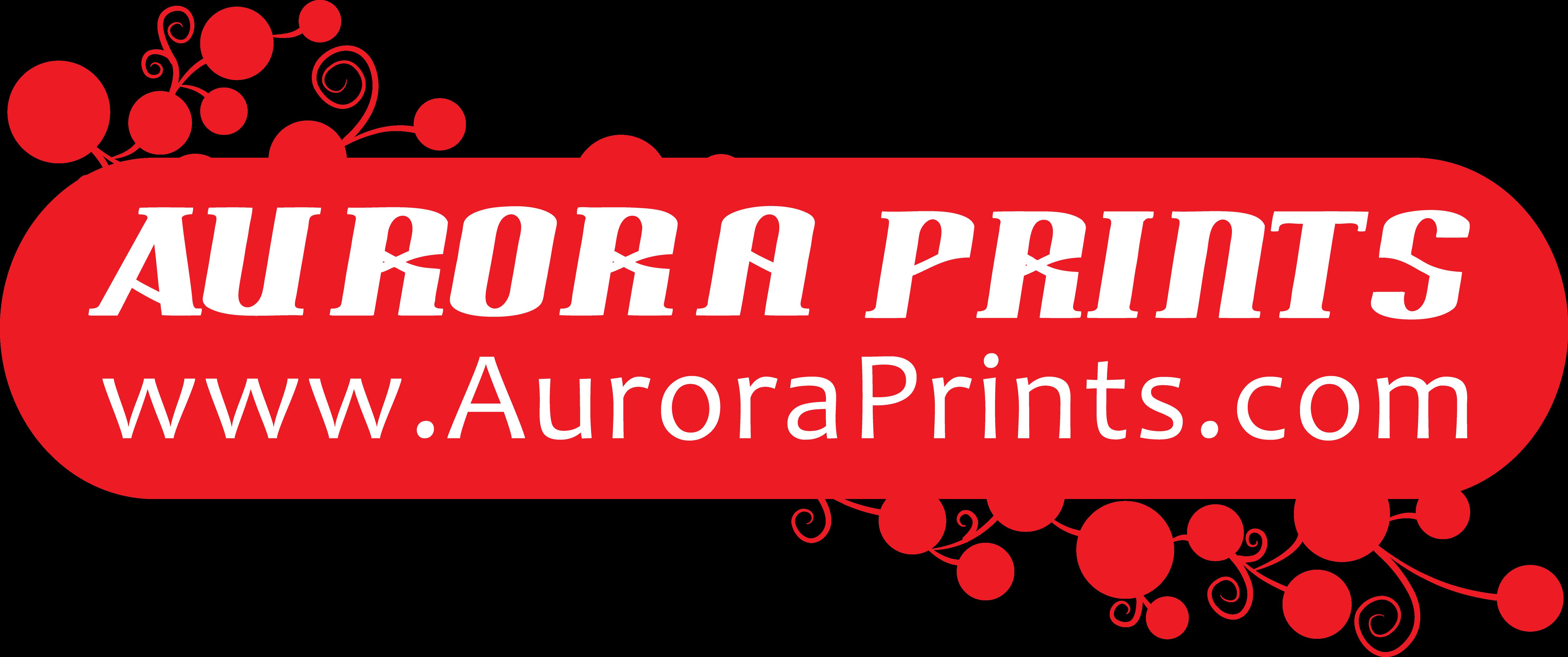Aurora Prints Logo