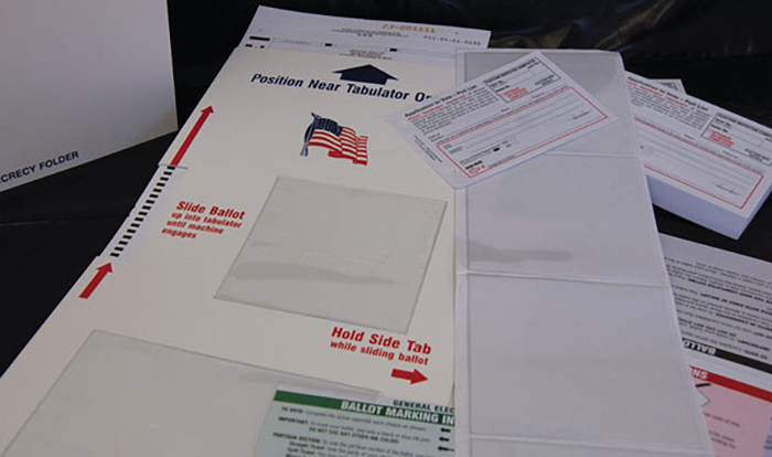 451-P Pouches for Application to Vote (24 per pkg.)