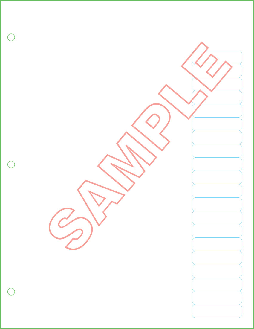 Printing Systems · 609 Poll List Sheets w/ Labels, 20 Labels per ...