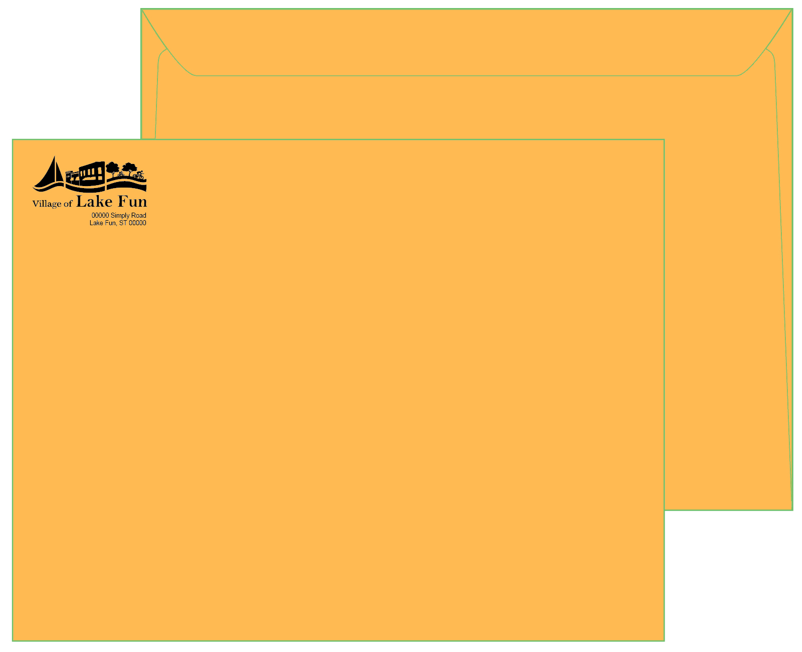 10 x 13 Brown Kraft Booklet Envelope