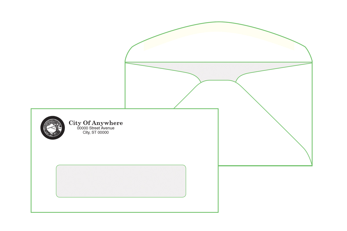 #6 3/4 Window Envelope