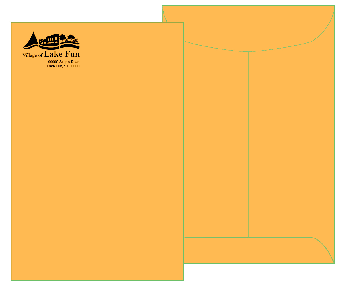 6 x 9 Brown Kraft Catalog Envelope