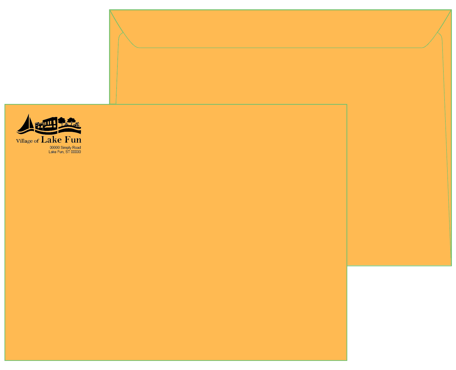 9 x 12 Booklet Envelope (Brown Kraft)