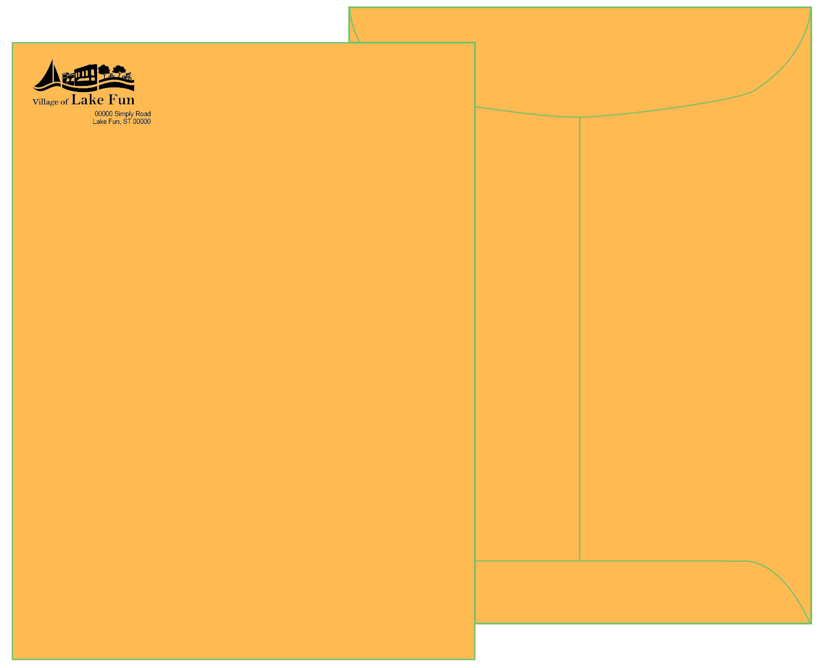 9 x 12 Brown Kraft Catalog Envelope