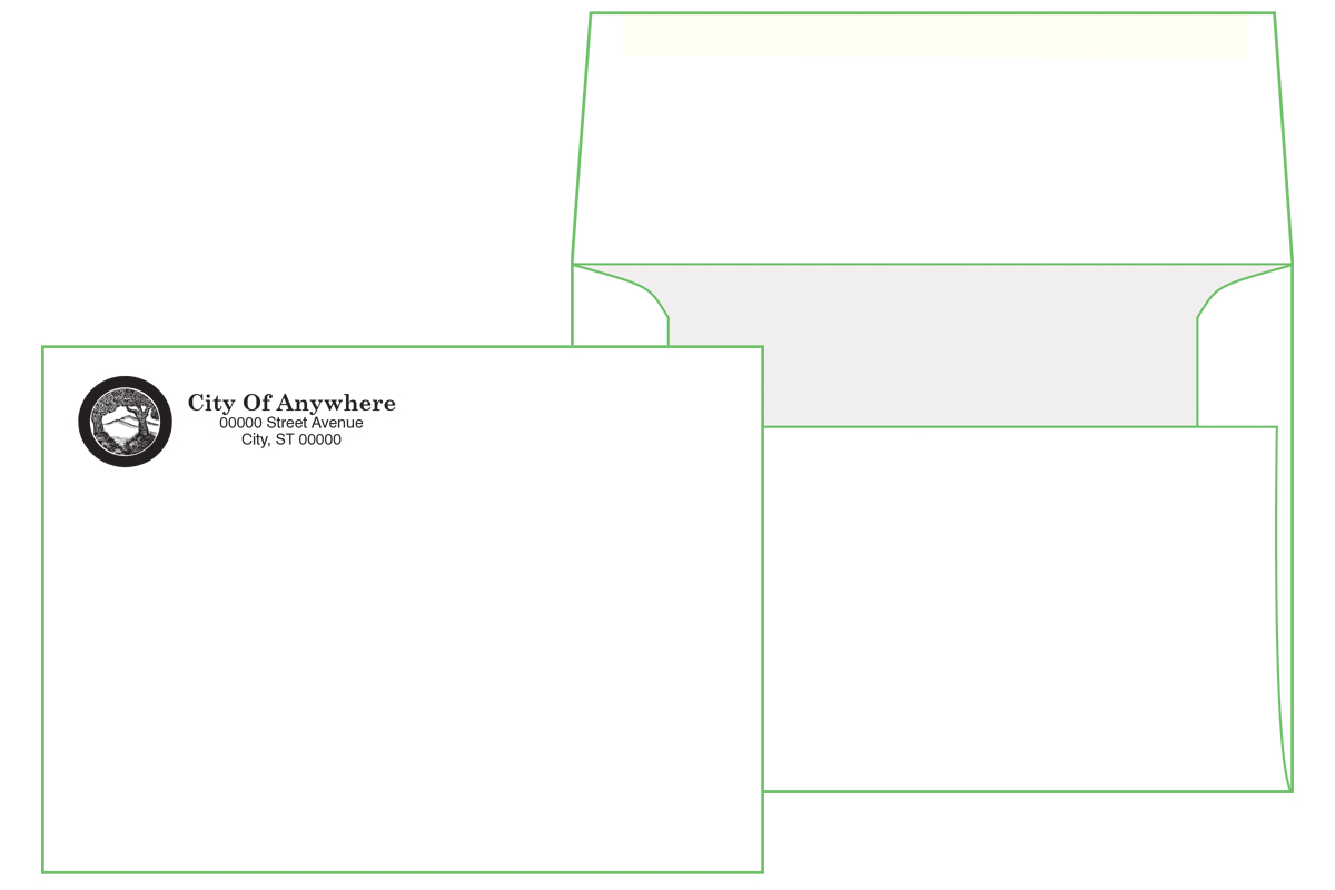 A6 Premium Envelope ( 4 3/4 x 6 1/2) Square Flap