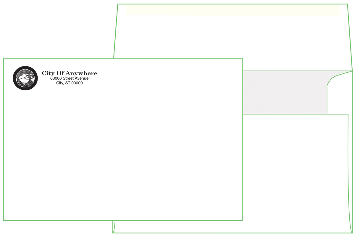 A8 Premium Envelope ( 5 1/2 x 8 1/8) Square Flap