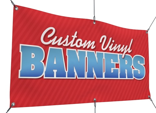 HD Banners Vinyl (Full Color) -  13oz.