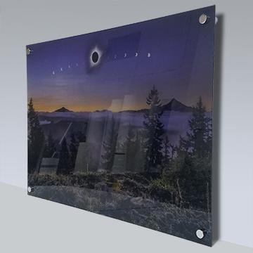 acrylic print clear
