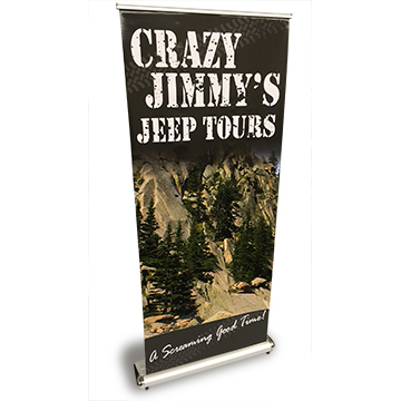 Luxury Retractable Banner