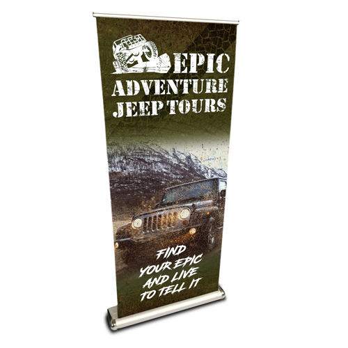 Luxury Retractable Banner Stand