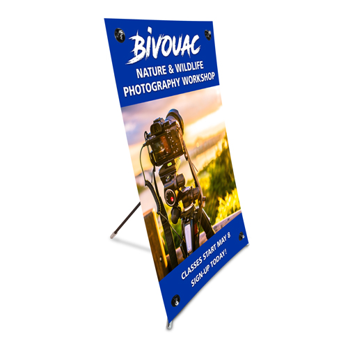 Miniature X-Stand Banner
