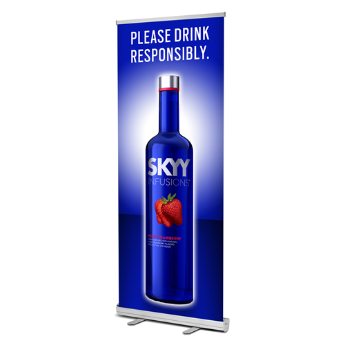 Standard Retractable Banner Stand