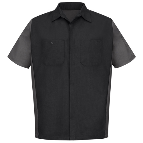 Automotive Workwear Red Kap Men's Short Sleeve Mechanics Crew Shirt SY20