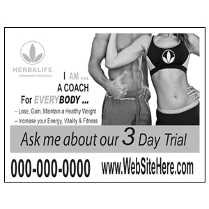 3 Day Trial ¼ Page Flyer