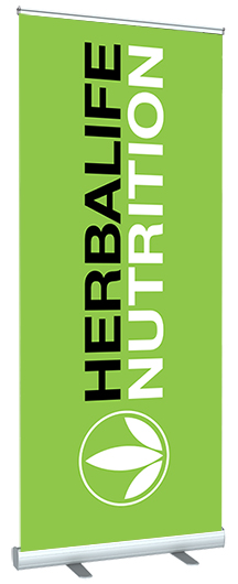 Herbalife Logo Popup Banner_Stand_1
