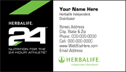 Herbalife24 Business Card - HL24-3F