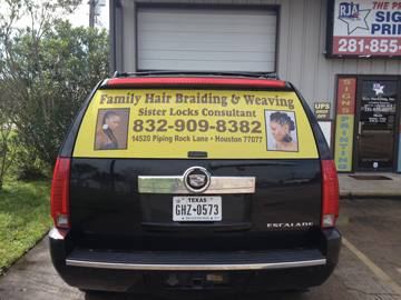 Hair Braiding Window Perf
