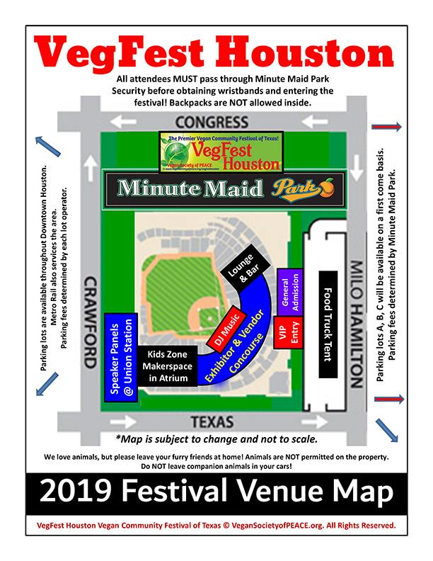 VegFest 2019 Map & Sign