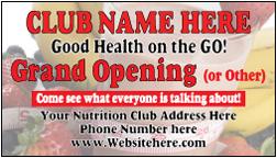 Nutrition Club Card - NC-1