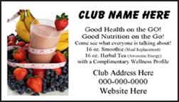Rja Marketing Inc Nutrition Club Card Rja 52