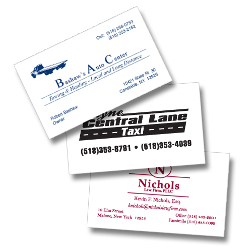 business card single color