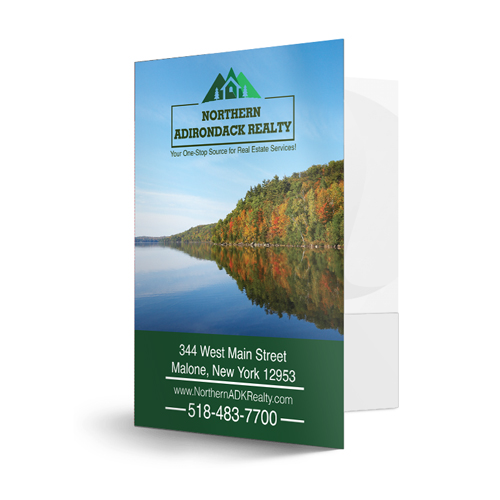 Custom Presentation Folders - Matte Finish