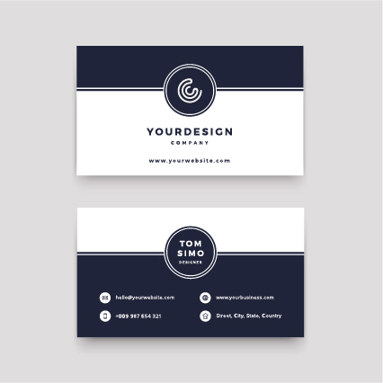 Business Cards with Coating