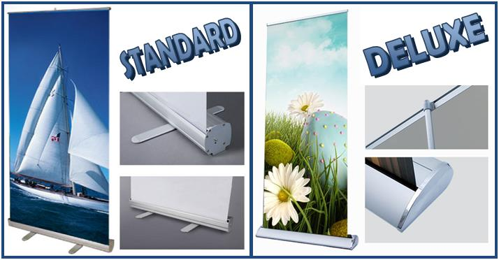 Moore Graphics · Retractable Aluminum Banner Stands