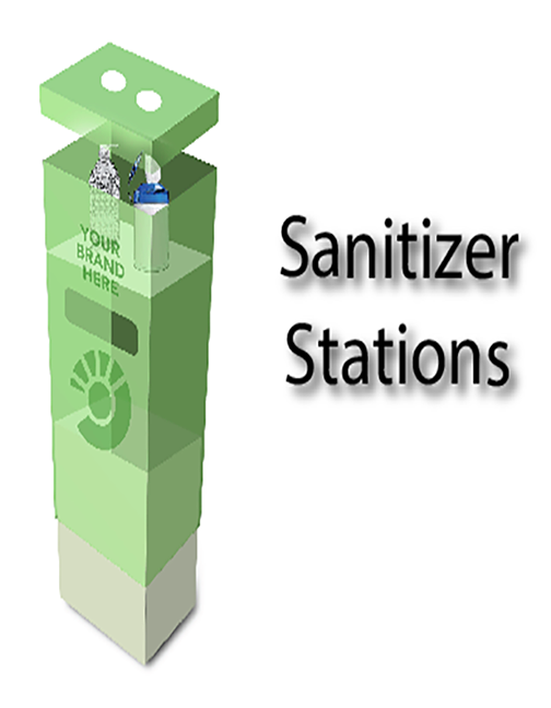 Sanitizer Station