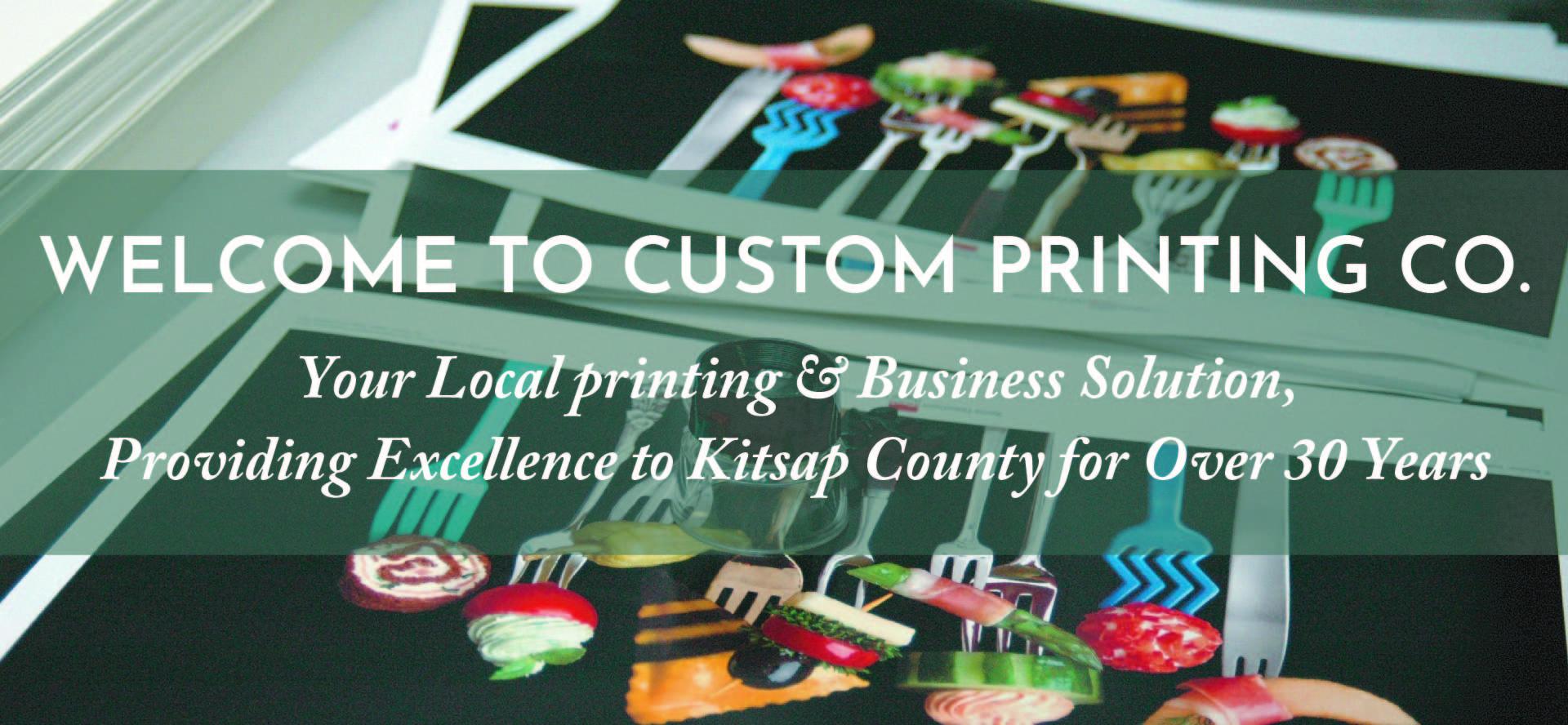 Welcome To Custom Printing