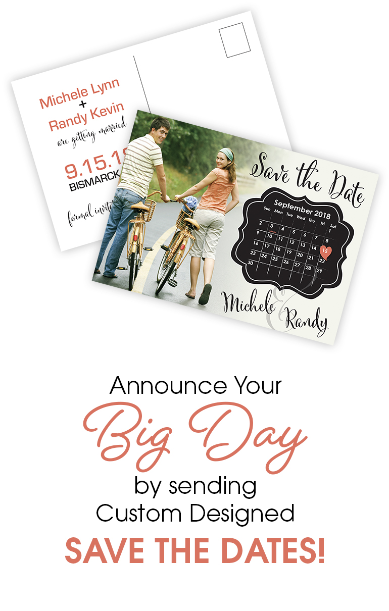 Wedding Printing Save The Date Cards