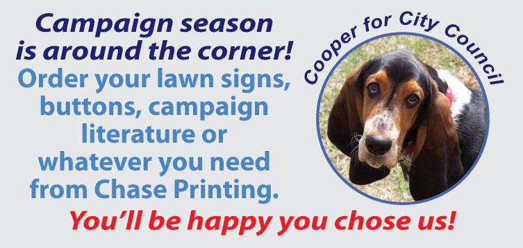 campaign printing