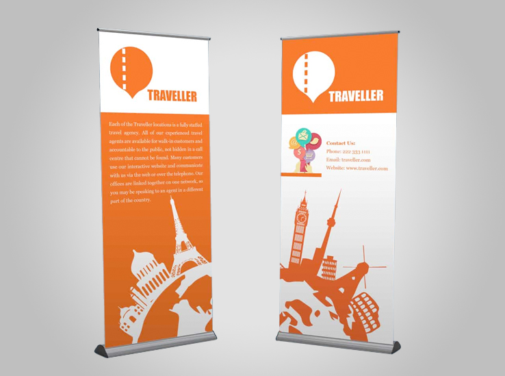 Standard Pull Up Banners with Retractable Stand 33