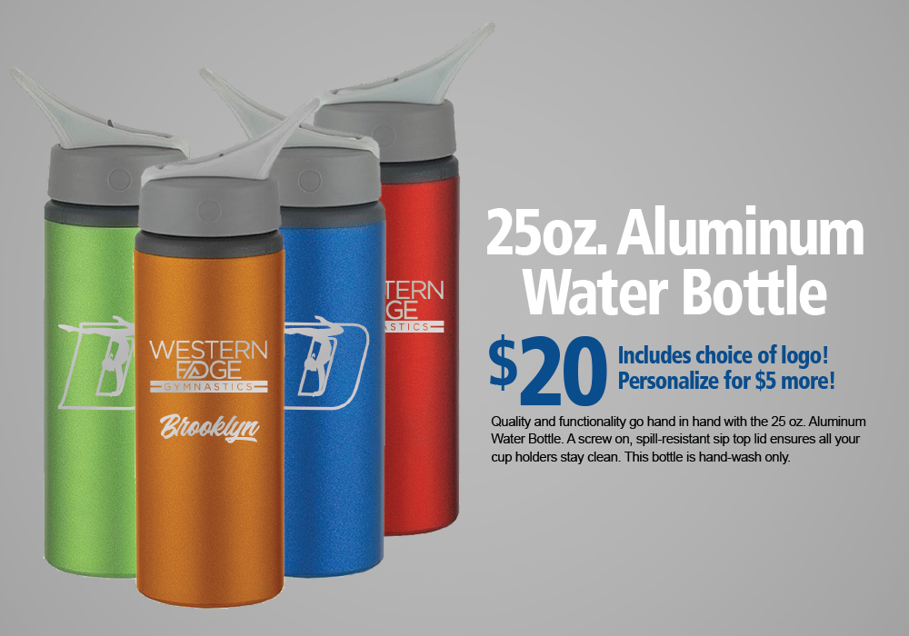 25oz. Aluminum Water Bottle