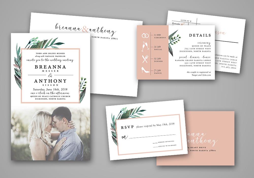 Wedding Panel Cards